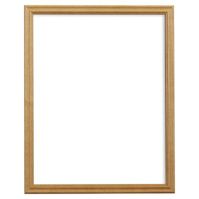 Alcott Hill 0 75 Wide Wood Grain Picture Frame Size 22 X 28 Color Natural Brown Picture Frame Colors Picture Frames