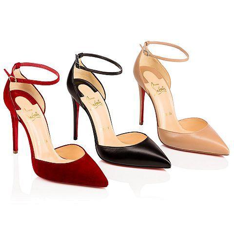 Uptown 100 NUDE Nappa - Women Shoes - Christian Louboutin