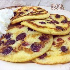 ^^ Estas tortitas de yogur son facilísimas de preparar y resultan muy sabrosas y jugosas en su interior. Se puedes servir calientes, tampladas o frías
