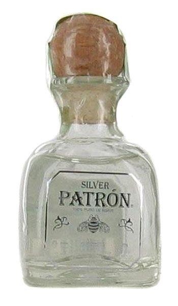 Patron Tequila Silver Mini 50ML...mini bottles @$5.59 ea, perfect to pair with mini tacos & lime wedges, etc.