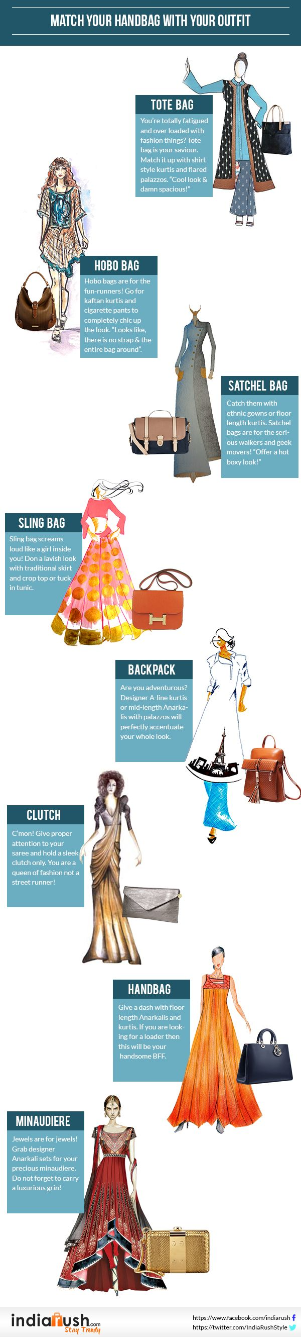 Match Your Handbag With Your Outfit | Fashion Tips - Indiarush