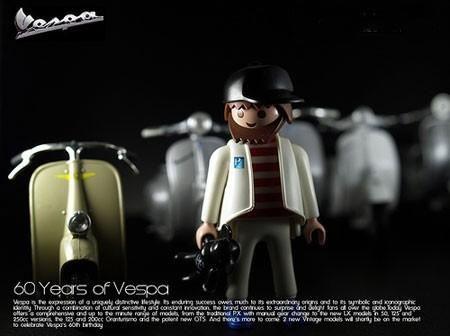Foto Vespa Playmobil, giocattolo d'autore