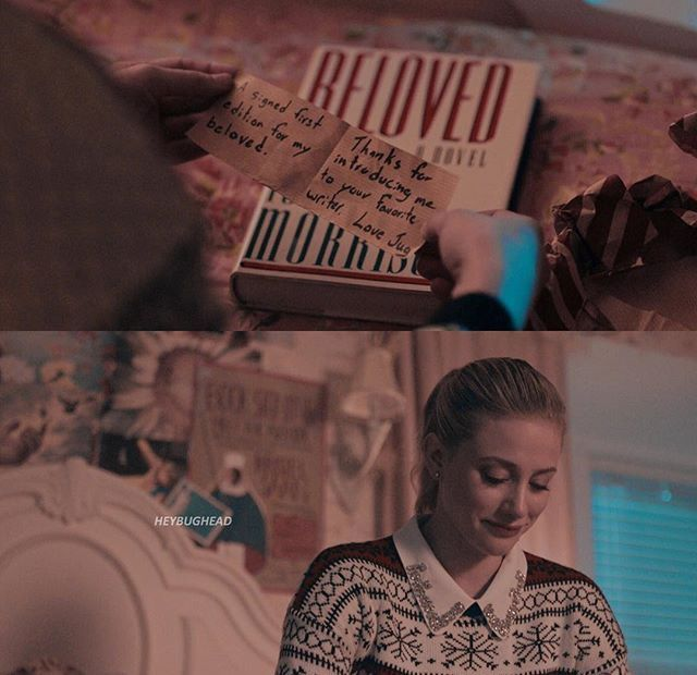 "Gift exchange between Bughead! ""My beloved"" S2 Ep10"