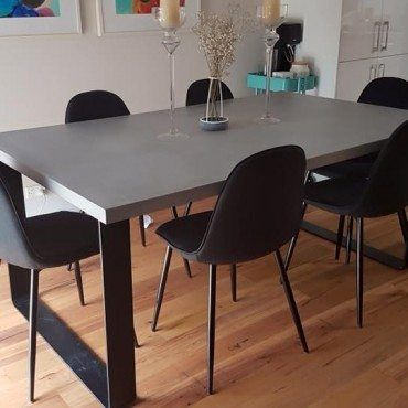 King Dining Table Concrete