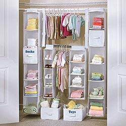 Affordable kids closet organization