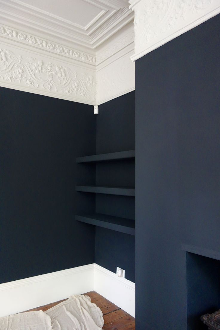 Farrow und Ball Off Black und Shaded White