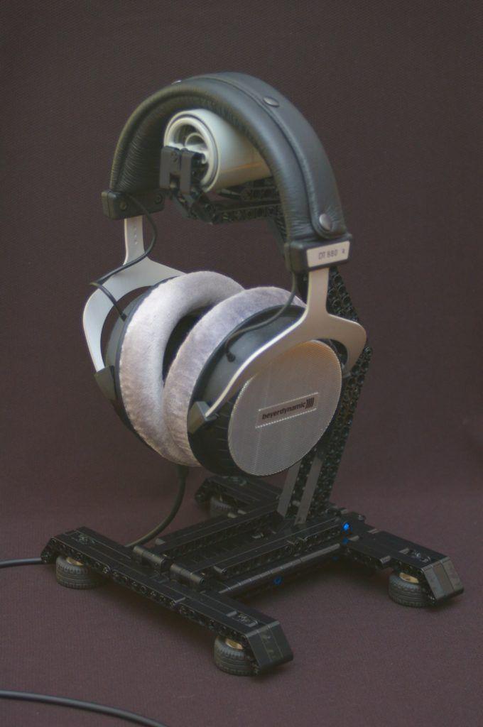 Lego Technics Headphone Stand Diy Headphones Diy Headphone Stand Headphone Stands