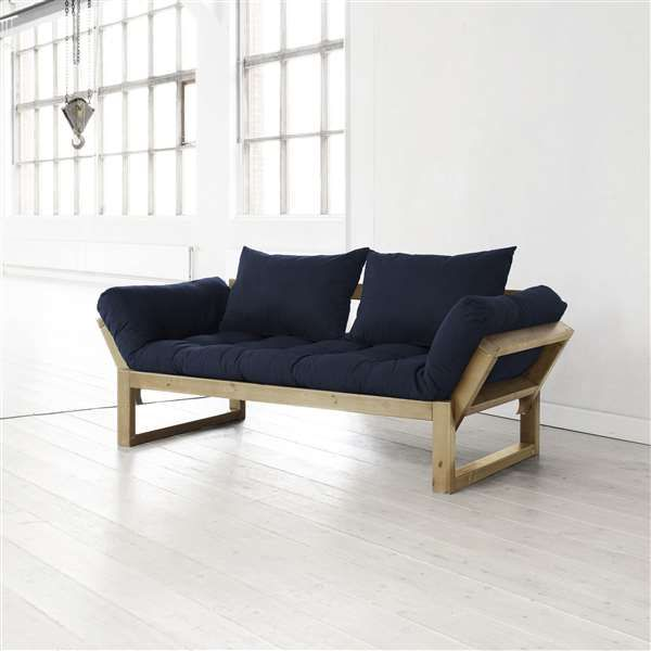 Fresh Futon Edge Natural Wood Convertible Sofa Your Modern Organic Design Aesthetic And Boho Chic Lifestyle Make This