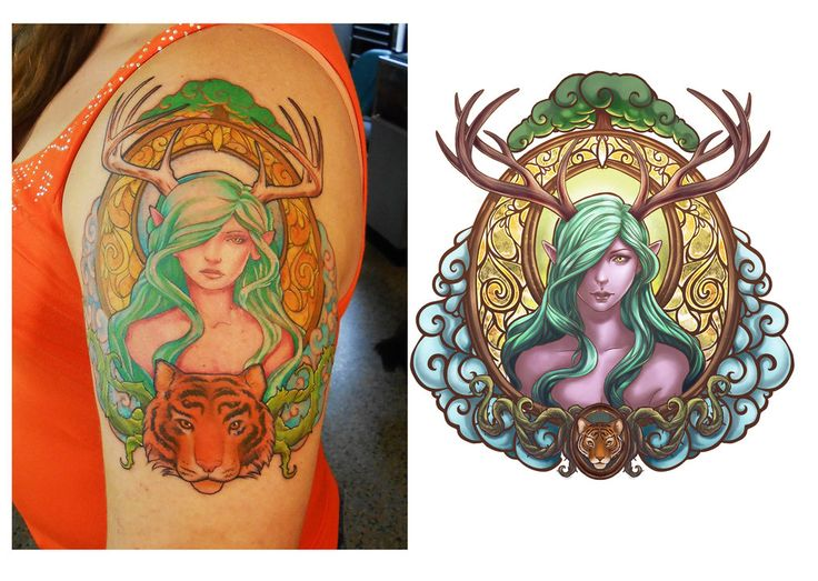 Wow Druid Tattoo 17 Best ideas a...