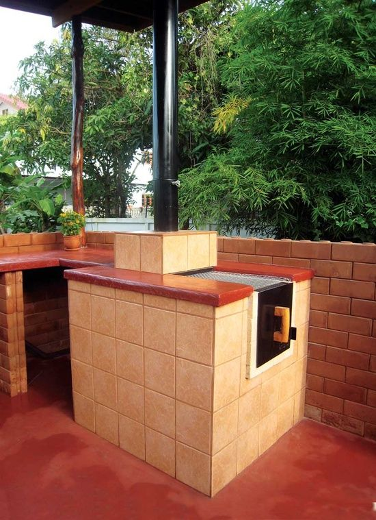 17 best images about diy brick bbq grill ideas on pinterest built in grill patio grill and ovens. Black Bedroom Furniture Sets. Home Design Ideas