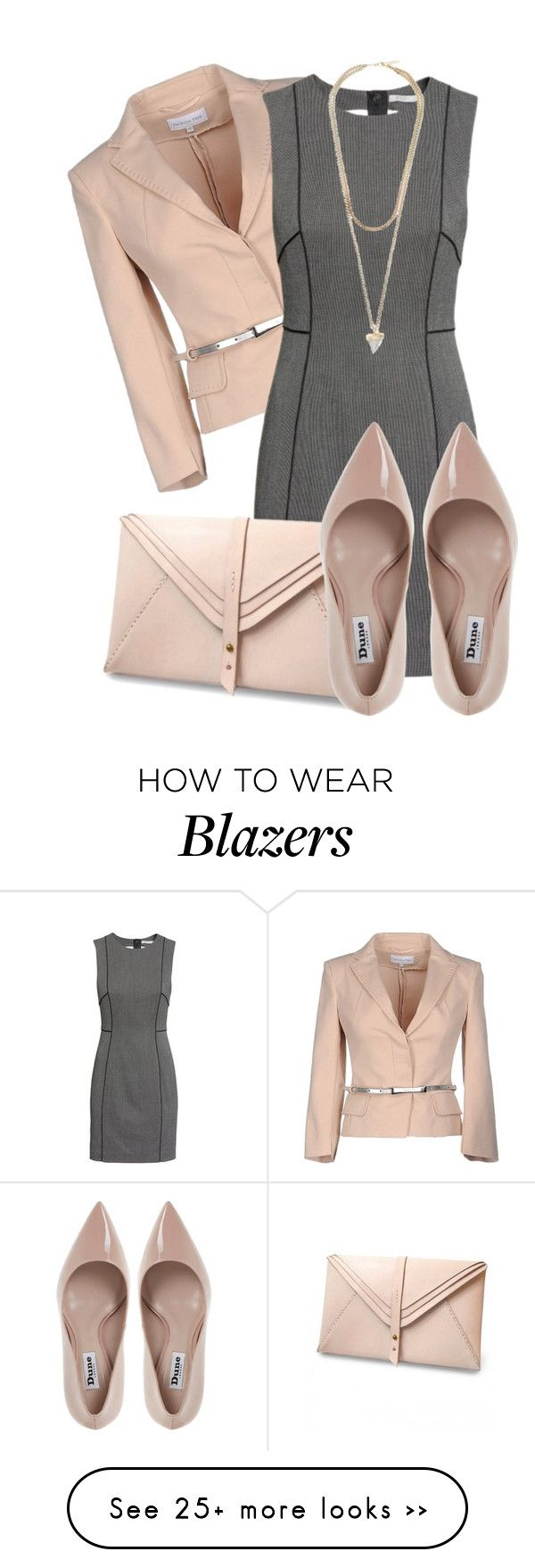 """Untitled #67"" by valentina-a-bb on Polyvore featuring Patrizia Pepe, H&M, HarLex, Dune and Givenchy"