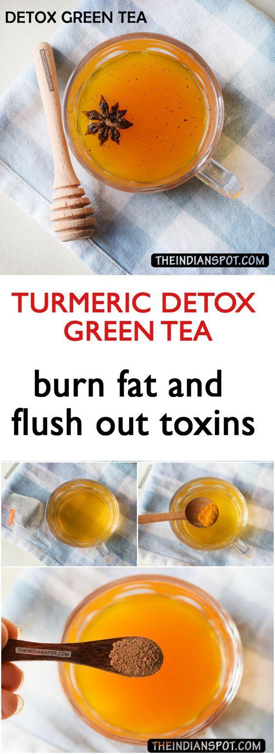 Turmeric Detox Green Tea