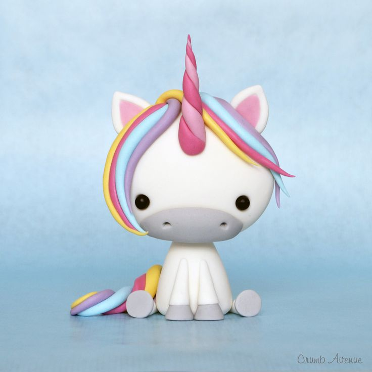 Cute Unicorn Tutorial by Crumb Avenue