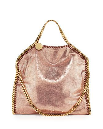 Stella McCartney Falabella Fold-over tote bag - $1,265 Neiman Marcus. Put this bag in your BattleShop closet today! www.BattleShop.co