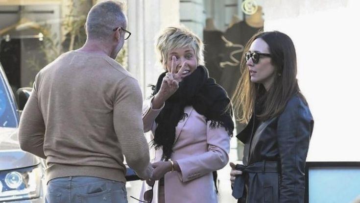 Dolió el tremendo porrazo de Sharon Stone en la calle - Rosario3.com