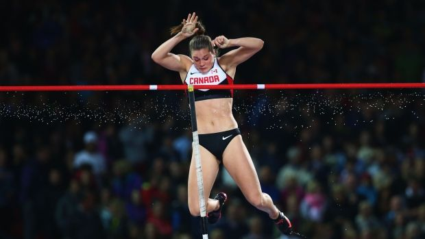 Alysha Newman sets Canadian indoor pole vault record London, Ont., native reaches 4.65 metres to best previous mark