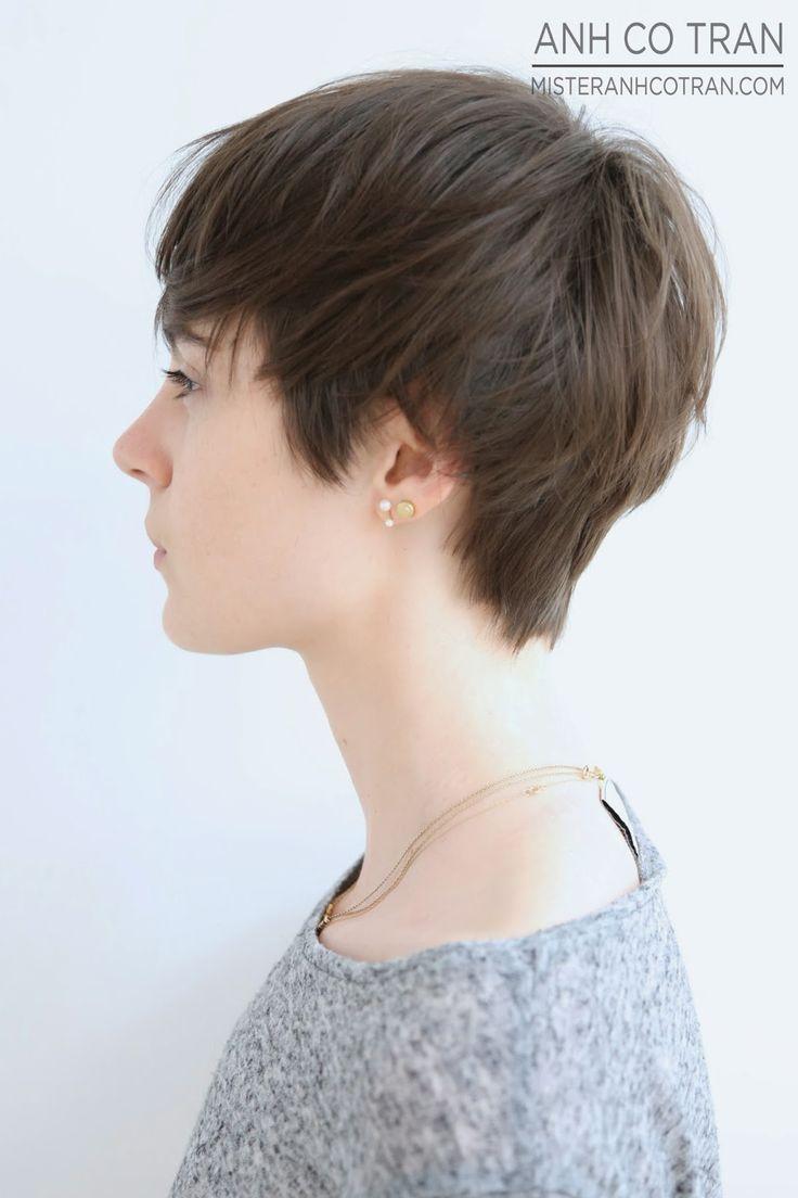 40 spectacular blunt bob hairstyles the right hairstyles - 46600a25b2d10b91a7131d2942d636d3 Short Pixie Haircuts Short Hair Cuts Jpg