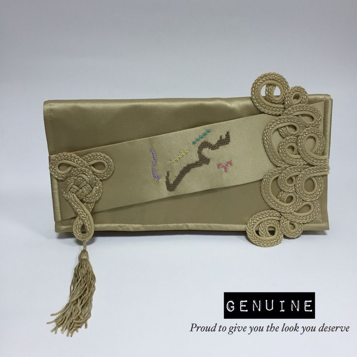 Samar Clutch - Code:- G0067 Become a fashion icon by holding your name in customized clutch of your own choice of colors