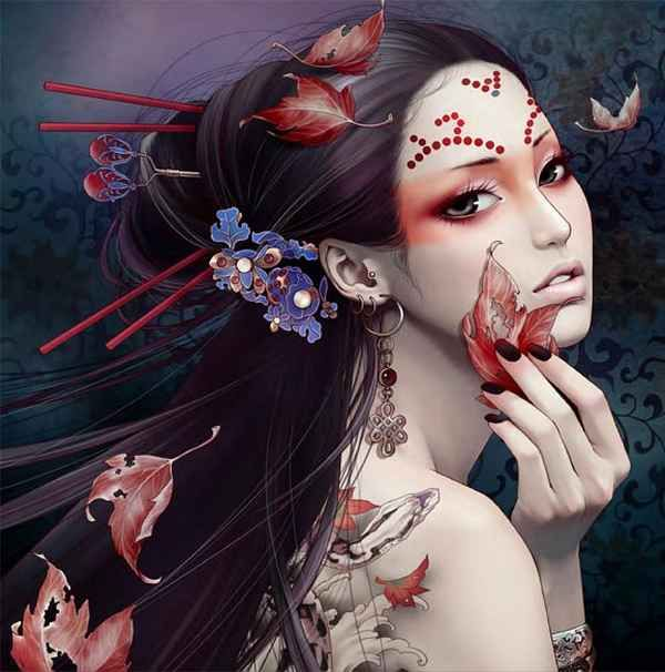 . Zhang Xiao Bai is a comic illustrator, video games designer and artist from Beijing, in China. She loves to create tattooed Illustrations. In those amazin Artworks she mixes classical Chinese Motifs with Indian Art, Manga Themes an other modern Elements. Click here for her Facebook-Fanpage: Zhang …