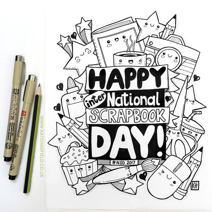 Happy (inter)National Scrapbook Day to all my scrapbooking peeps!