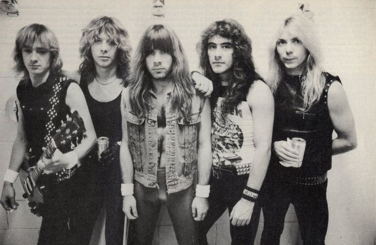 There are multiple artists with this name: 1) Iron Maiden is a New Wave of British Heavy Metal or nwobhm band from the United Kingdom. Description from reviewrinserepeat.com. I searched for this on bing.com/images