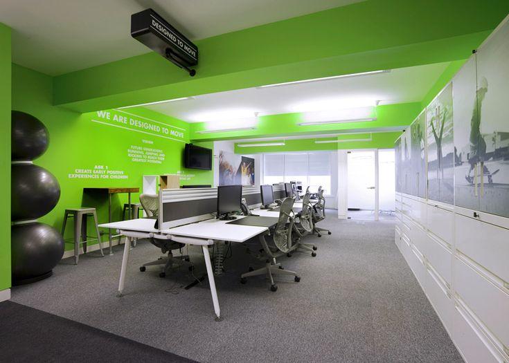 Nike UK Headquarters redesign by Rosie Lee