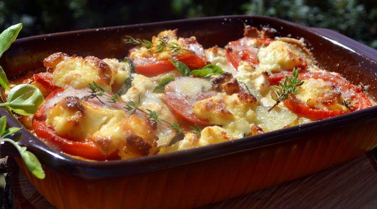 Cukkinis tepsis krumpli - Főzzünk! Receptfeltöltő, Smaci receptje | femina.hu