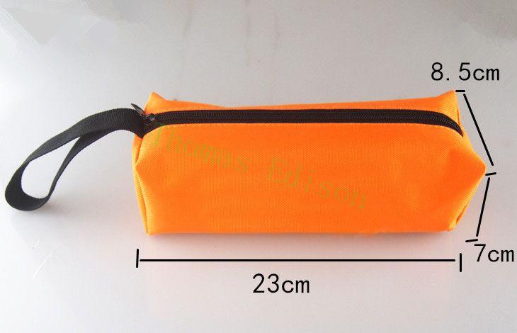 23*8.5*7 CM bolsa de almacenamiento de bolsa de herramientas de hardware kit de herramientas pequeña herramienta Portátil Kit de Mantenimiento