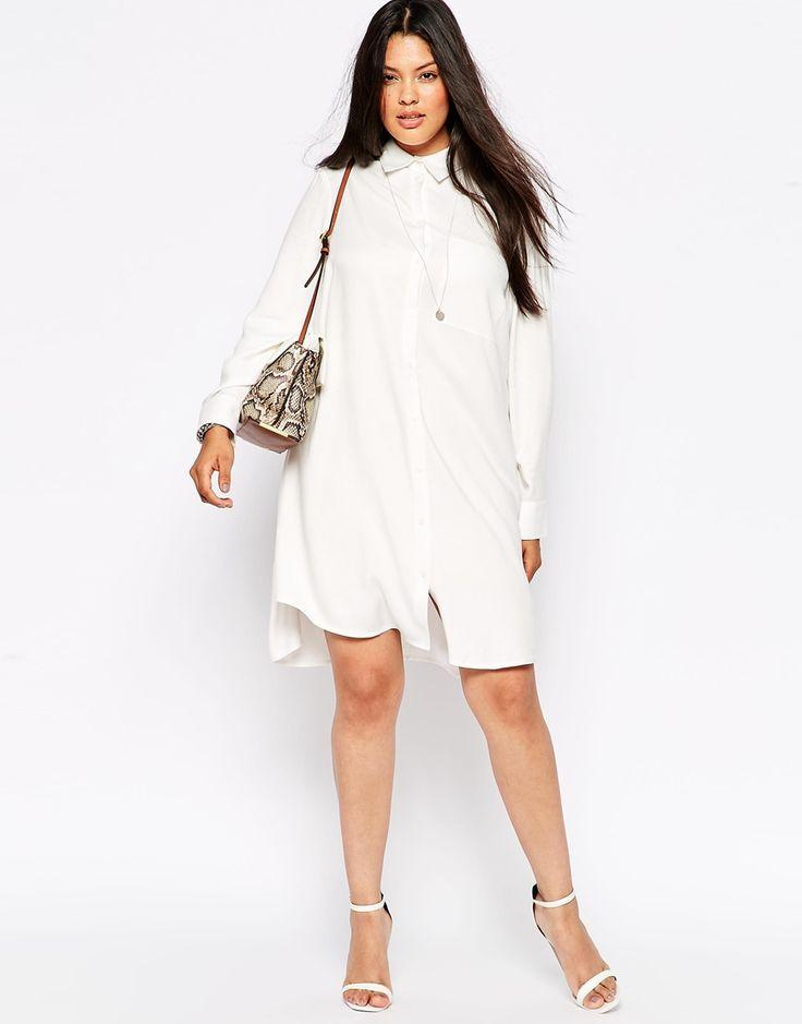 72 best The Plus Size LWD: Little White Dress images on Pinterest ...