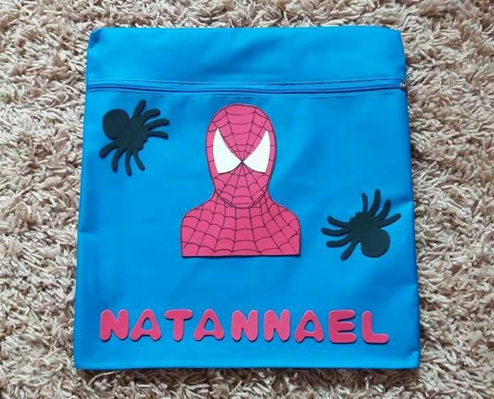 Capa de cadeira escolar do Homem Aranha 🕷🕸