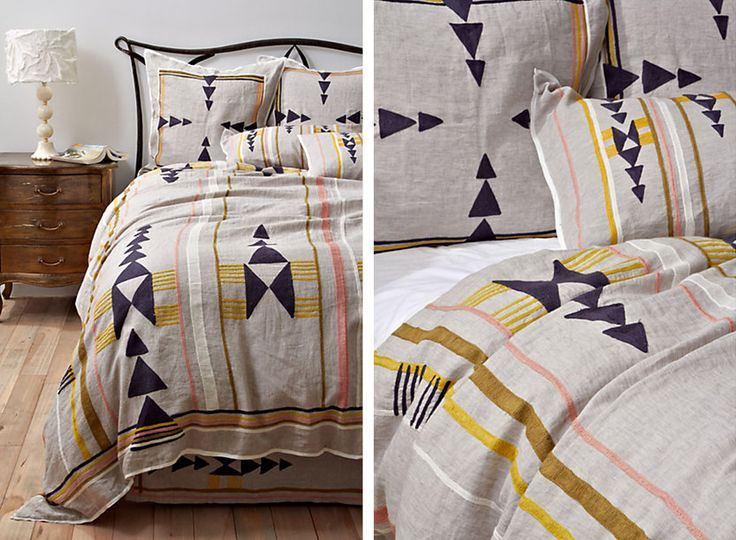Anthropologie Bedding Isleta