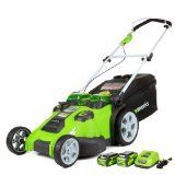 The Greenworks 25302, Twin Force G-Max, 40 V Litium iOn Cordless Mower 20 Inch Review