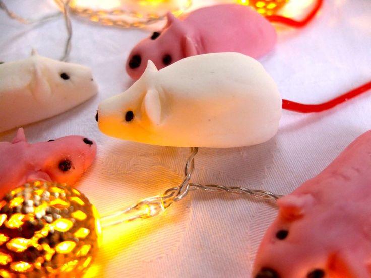 how to make sugar mice, fabulous homemade Christmas gift which kids can make!