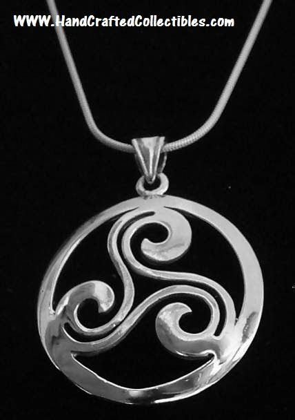 41 best sterling silver celtic jewelry images on pinterest irish sterling silver celtic jewelry silver celtic knot necklace triskele necklace http mozeypictures Gallery