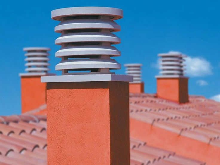 Chimney for roof by SAS ITALIA - Aldo Larcher