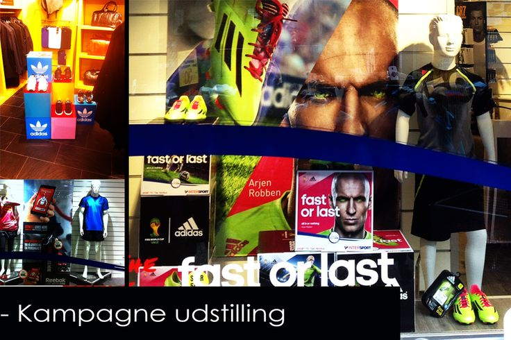 Retail Design for Adidas and Reebok in INTERSPORT stores in DK. (Made by EnaEna.dk)