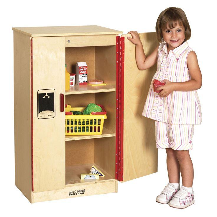 ECR4KIDS Play Kitchen Refrigerator | from hayneedle.com
