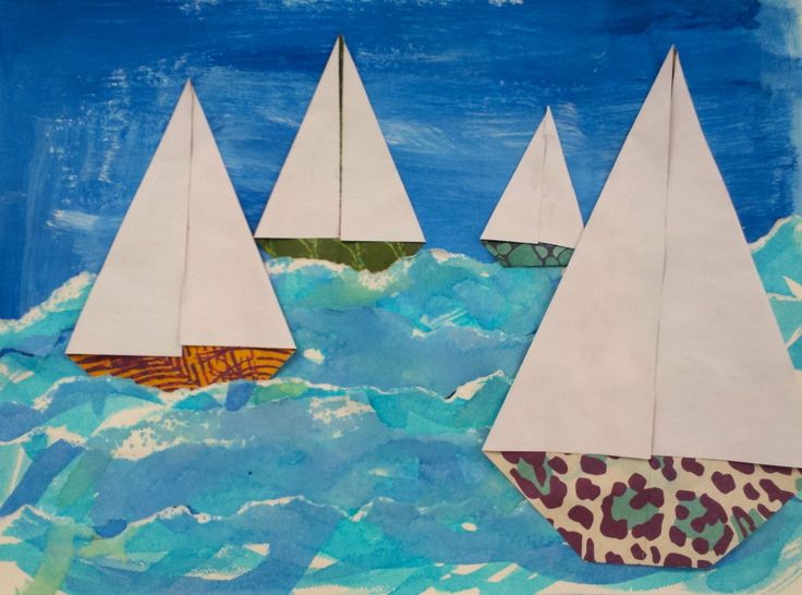 Art with Mrs. Nguyen: Seascapes (4th)