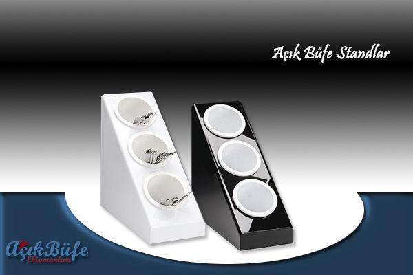Açık büfeler için tasarlanmış çatal kaşık standları için tıklayın. http://www.acikbufeekipmanlari.com/acik-bufe-standlar Çaytal kaşık standı,Kuver standı,Çatal bıçak standı,Açık büfe stand,Açık büfe ekipmanları,Açık büfe malzemeleri