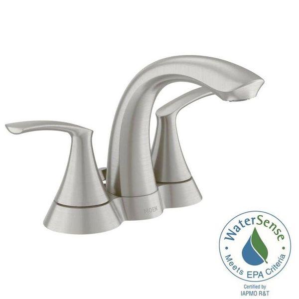 Refurbished Moen Ws84550srn Darcy 4 Centerset 2 Handle Bathroom