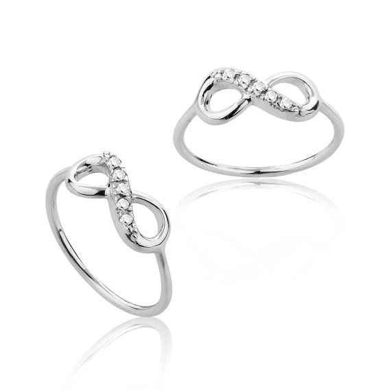 Tiffany & Co. Inspired Infinity Ring Infinity love by MimicDesign, $24.00.......can someone tell my bf this is what i want for our one year.