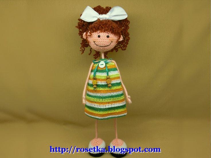 Вязанные игрушки от RамзиЯ! Мастер-класс интерьерной куклы Вот такие прелестные куклы создаются умелыми руками мастерицы с ником RамзиЯ! С ее доброго согласия показываю вам всем ее работы. Здесь и куклы, и украшения, и куклы-обереги. Все они очаровательные, с озорной улыбкой, дарящие настроение и создающие уют. Кто из нас не мечтает заиметь такую же куклу, восседающую в ...
