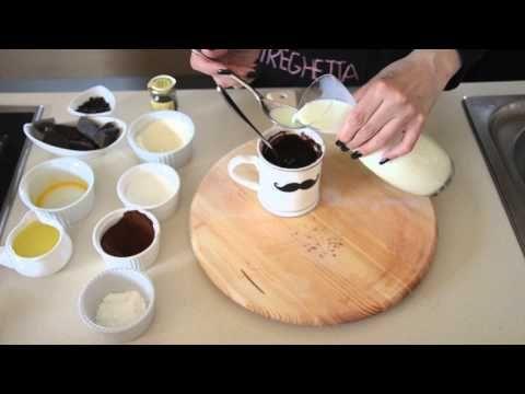 Torta Cioccolato in Tazza al Microonde