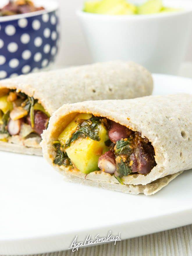 wegańskie naleśniki bez glutenu domowa tortilla prosty przepis