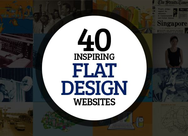 42 Inspiring Flat Design Websites - i love flat design, lots of good inspiration