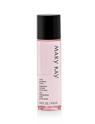 Gently removes eye makeup, including waterproof mascara, without tugging or pulling the delicate eye area.