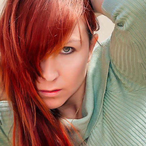 My Selfie photo voted best of the year 2013 on PIXOTO.com - People Portraits of Women ( selfie, red hair, self portrait )