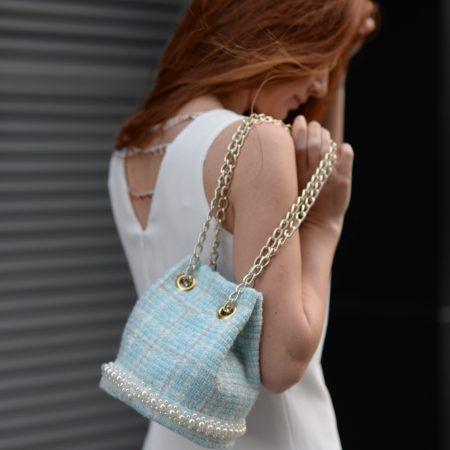 Bucket bag - It bag - Unique design created by Ingi. Made with Love - Handmade @parisboheme.fashion