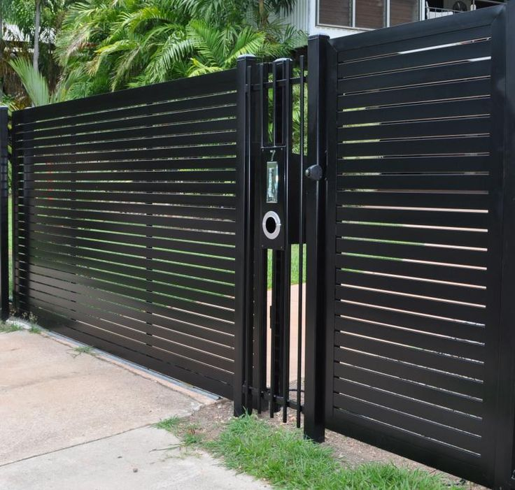 46 best gate design images on pinterest facades fence for Door gate design