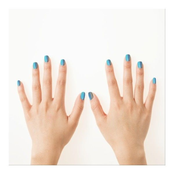 Nails by the sea minx nail wraps ($21) ❤ liked on Polyvore featuring beauty products, nail care and nail treatments
